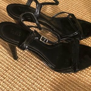 Ralph Lauren black pants heels size 7